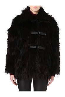MARC BY MARC JACOBS Lex faux-fur coat