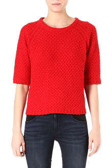 MARC BY MARC JACOBS Maldy short-sleeved jumper