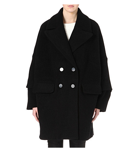 MARC BY MARC JACOBS Max double-breasted coat (Black