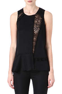 MARC BY MARC JACOBS Victoria lace sleeveless top