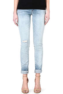 MARC BY MARC JACOBS Slim straight-leg mid-rise jeans