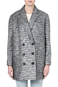 MARC BY MARC JACOBS Metallic tweed coat