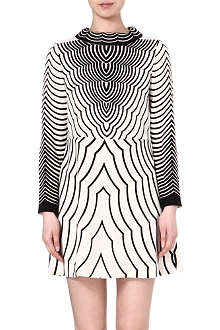 MARC BY MARC JACOBS Radio Waves print dress