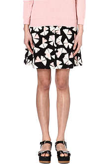 MARC BY MARC JACOBS Pinwheel printed silk skirt