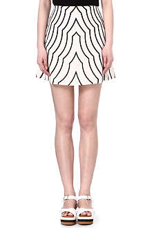 MARC BY MARC JACOBS Radio waves print skirt