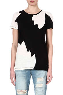 MARC BY MARC JACOBS Carmen flame-print linen t-shirt