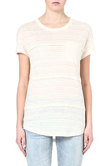 MARC BY MARC JACOBS Eloise sheer-striped top