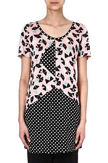 MARC BY MARC JACOBS Amelia printed tunic top