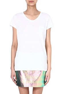 MARC BY MARC JACOBS Carmen linen t-shirt