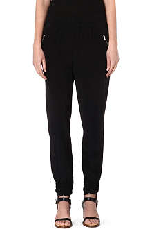 MARC BY MARC JACOBS Frances silk jogging trousers