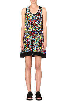 MARC BY MARC JACOBS Silk floral-print dress