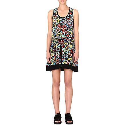 MARC BY MARC JACOBS Silk floral-print dress (Multi