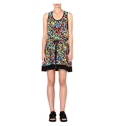 MARC BY MARC JACOBS Silk floral-print dress (Multi