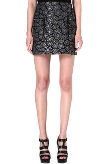 MARC BY MARC JACOBS Floral-print jacquard skirt