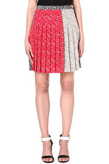 MARC BY MARC JACOBS Karoo pleated silk skirt