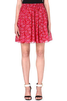 MARC BY MARC JACOBS Floral-print gathered skirt