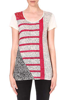 MARC BY MARC JACOBS Prachi patchwork-print t-shirt