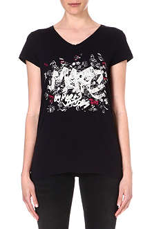 MARC BY MARC JACOBS Logo-print t-shirt
