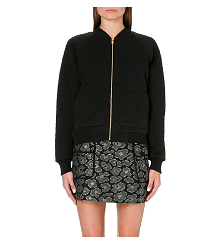 MARC BY MARC JACOBS Willier textured bomber jacket (Black