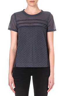 MARC BY MARC JACOBS Addy lace-panel top