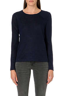 MARC BY MARC JACOBS Carmen silk-panelled top