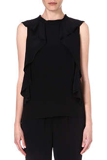 MARC BY MARC JACOBS Frances ruffled silk top