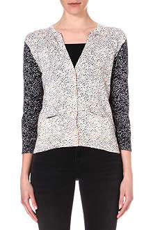 MARC BY MARC JACOBS Slash knitted cotton cardigan