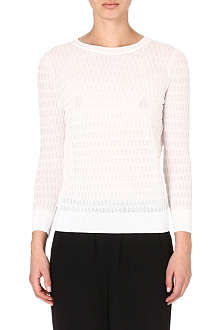 MARC BY MARC JACOBS Semi-sheer white top