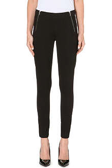 MARC BY MARC JACOBS Allie zip-detail leggings