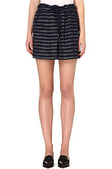 MARC BY MARC JACOBS Textured tweed skirt