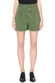 MARC BY MARC JACOBS Drawstring high-rise shorts