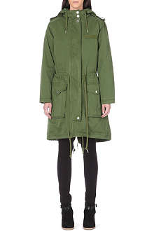 MARC BY MARC JACOBS Hooded zip coat