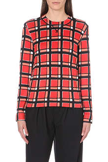 MARC BY MARC JACOBS Toto checked sweatshirt