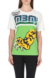 MARC BY MARC JACOBS Tiger foot t-shirt
