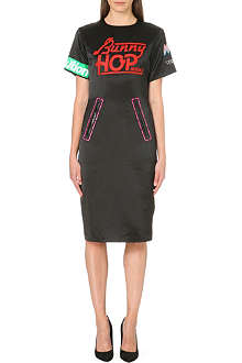 MARC BY MARC JACOBS Bunny Hop satin dress