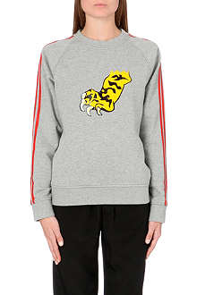 MARC BY MARC JACOBS Peyton Tiger Claw french terry sweatshirt