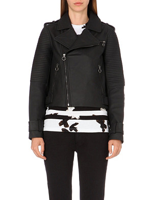 MARC BY MARC JACOBS Matte leather biker jacket
