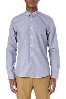 PAUL SMITH MAINLINE Rounded collar cotton shirt