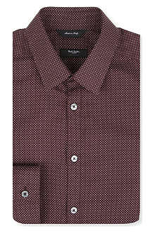 PAUL SMITH LONDON Byard micro polka dot single-cuff shirt