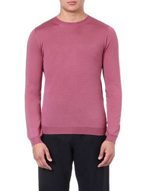 PAUL SMITH MAINLINE Contrast panel knitted jumper