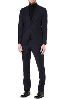 PAUL SMITH LONDON Polka dot wool suit