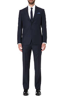 PAUL SMITH LONDON Westbourne classic-fit sharkskin suit