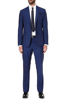 PAUL SMITH LONDON Byard slim-fit cobalt-blue suit