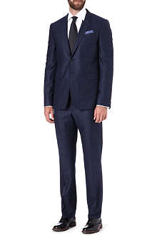 PAUL SMITH LONDON Byard single-breasted gingham suit
