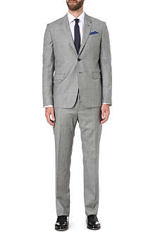 PAUL SMITH LONDON Byard slim-fit sharkskin suit
