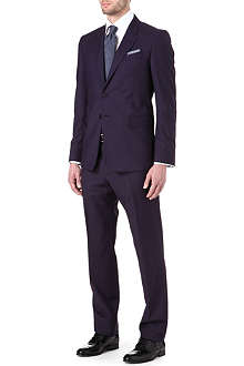 PAUL SMITH LONDON Wool and mohair-blend suit