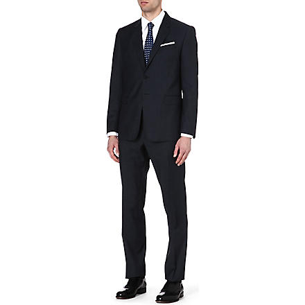 PAUL SMITH LONDON The Byard birdseye wool suit (Navy