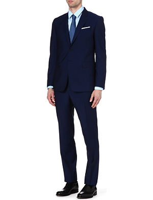 PAUL SMITH LONDON Byard wool-blend suit