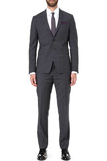 PAUL SMITH LONDON Kensington slim-fit checked suit