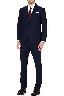 PAUL SMITH LONDON Single-breasted windowpane suit